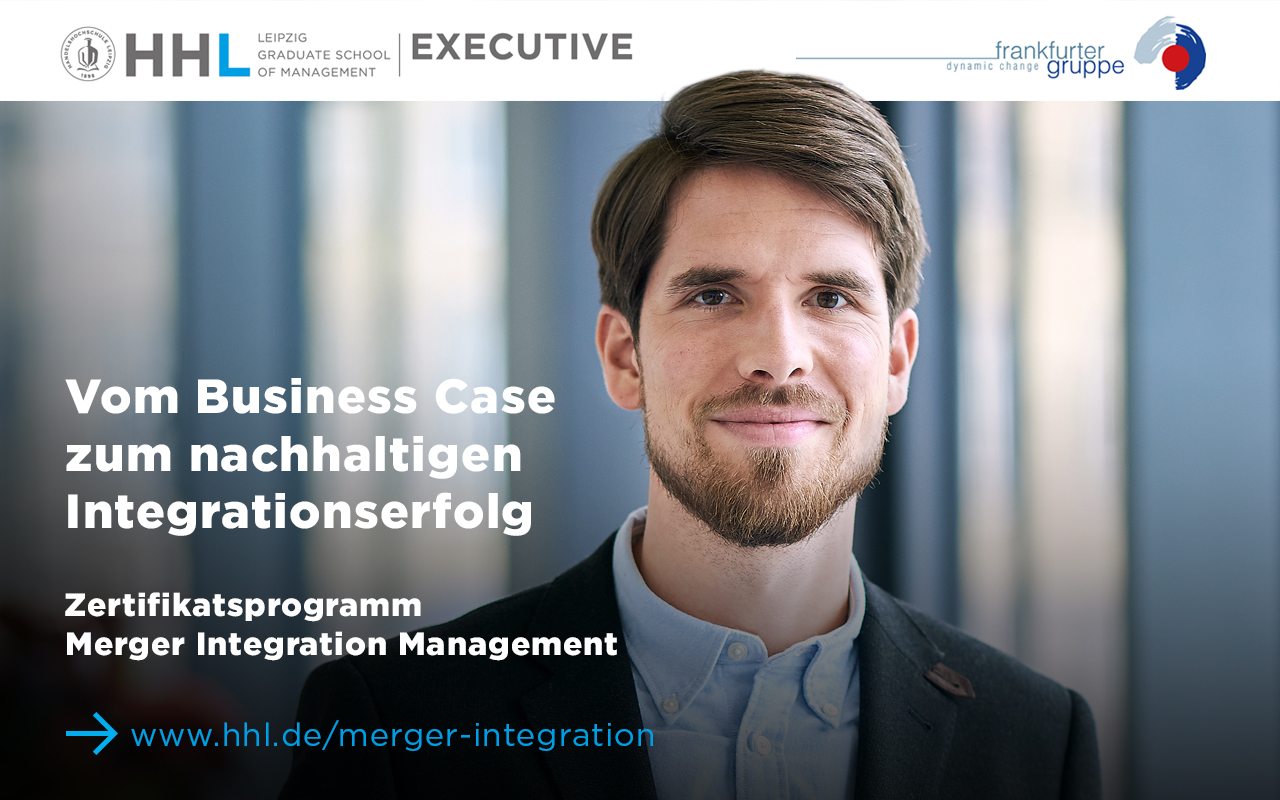 Seminar Merger Integration Management in Kooperation mit der EBS