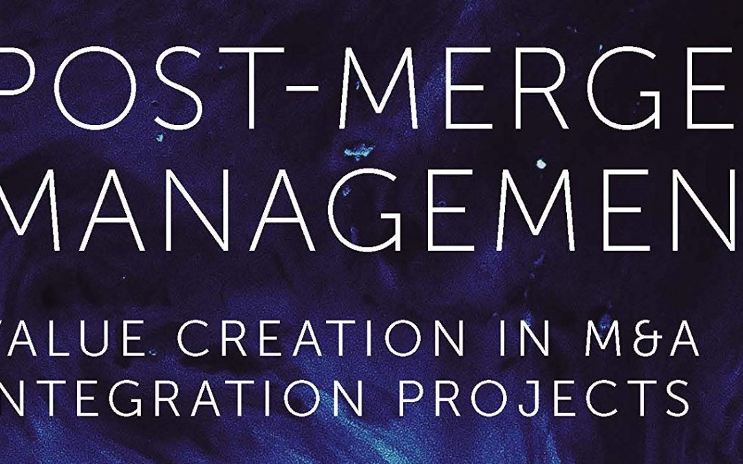 New book on Post-Merger Integration